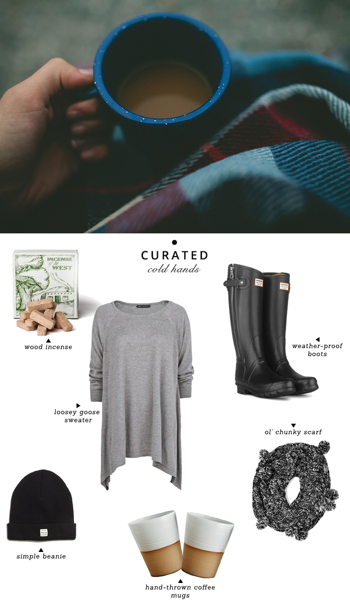 curated cold hands