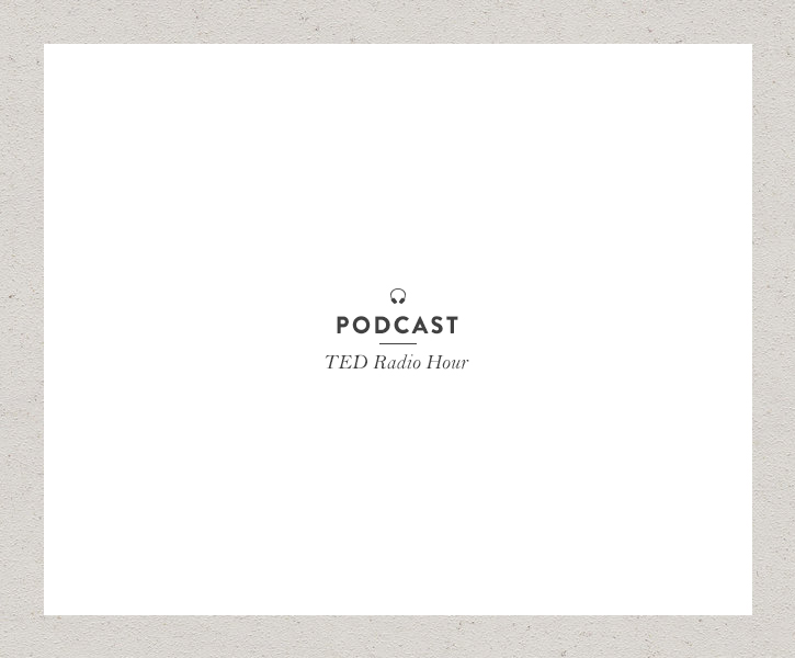 Podcast: TED Radio Hour