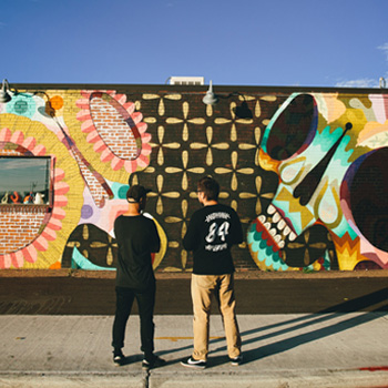 Denver's Urban Art: Jaime & Pedro