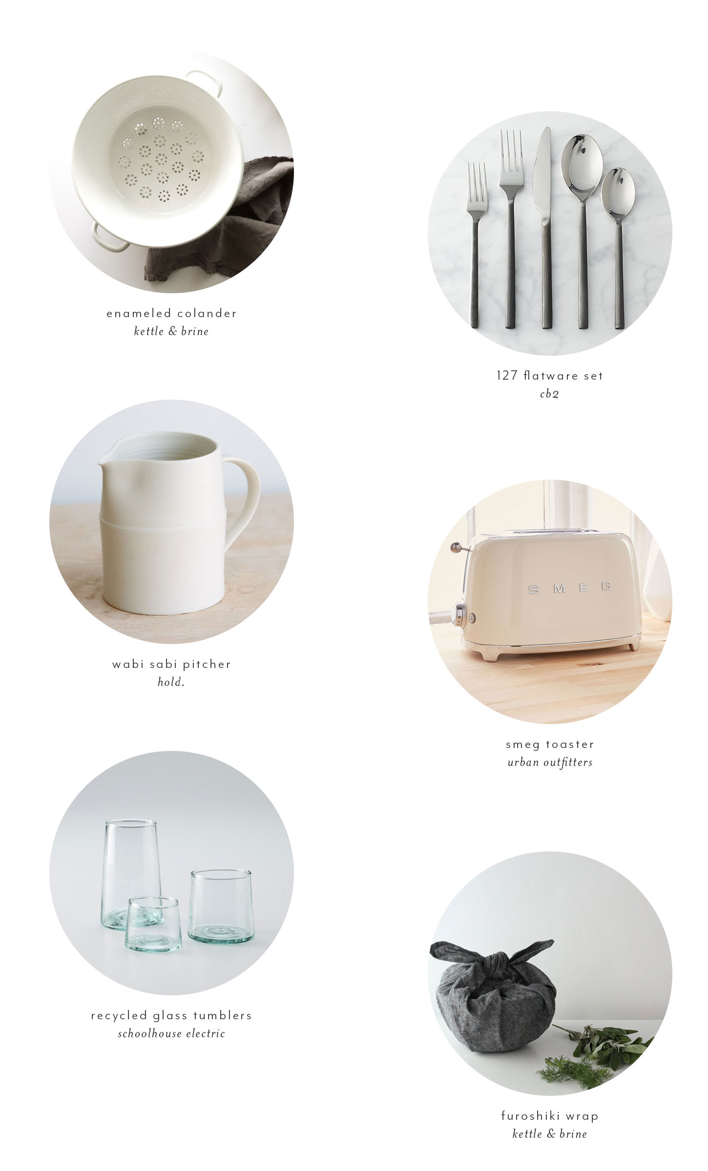 minimalist kitchen wants